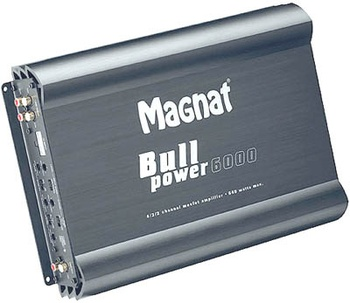 Усилитель Magnat Bull Power 6000 Silver