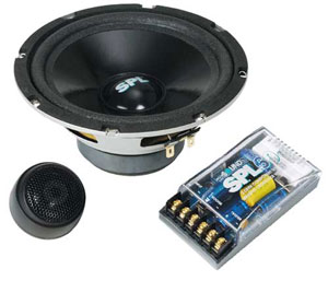 Компонентная акустика Soundstream SPL60G