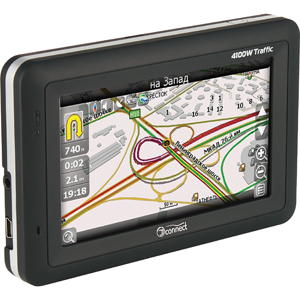 Автомобильный GPS-навигатор JJ-Connect AutoNavigator 4100W Traffic (+пробки)