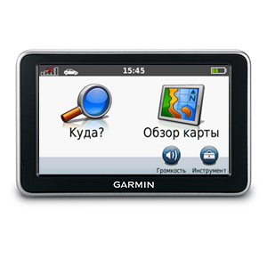Автомобильный GPS-навигатор Garmin Nuvi 2350 + City Navigator NT Europe