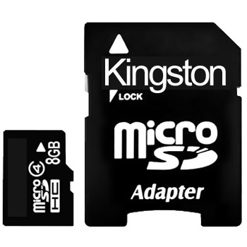 Kingston  MicroSD 8GB Class 4 (карта памяти)