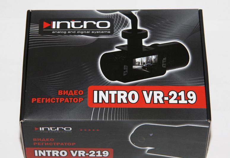 Инструкция видеорегистратор intro vr 219