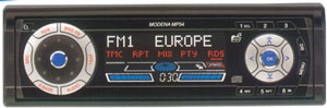 Автомагнитола Blaupunkt Modena MP54