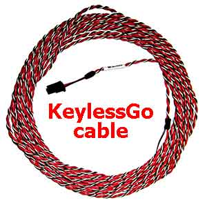 Fortin CLIMATE KeylessGo cable