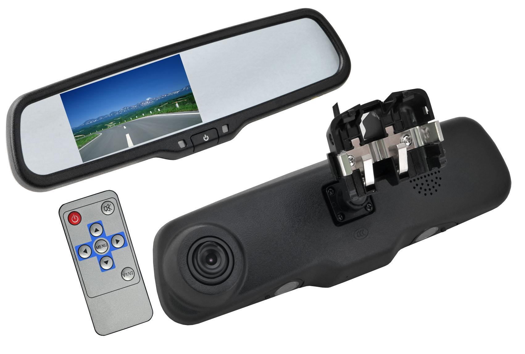 4 канальный автомобильный видеорегистратор с wifi