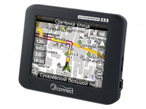 Автомобильный GPS-навигатор JJ-Connect AutoNavigator 333 Black