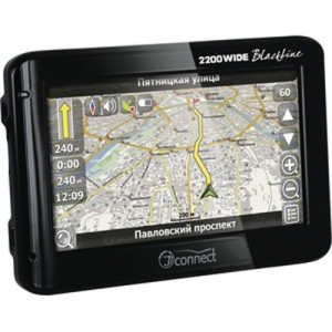 Автомобильный GPS-навигатор JJ-Connect AutoNavigator 2200 WIDE Blackline + Навител
