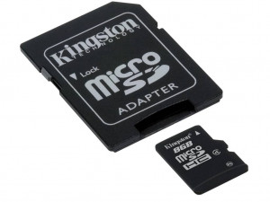 Kingston  MicroSD 8GB Class 10 (карта памяти)