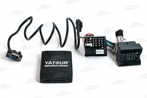AUX, IPOD, USB адаптер Far-car Yatour YT M06 для автомобилей Opel