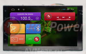 Штатная магнитола Redpower 18001B HD GPS+ГЛОНАСС (без DVD-привода)