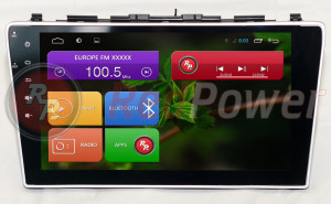 Штатная магнитола Redpower 18009B HD GPS+ГЛОНАСС (без DVD-привода)