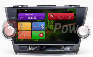 Штатная магнитола Redpower 18035B HD GPS+ГЛОНАСС (без DVD-привода)