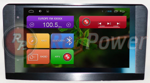 Штатная магнитола Redpower 18168B HD GPS+ГЛОНАСС (без DVD-привода)
