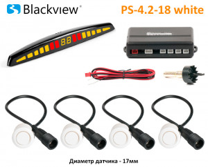 Парктроник Blackview PS-4.2-18 WHITE