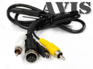 Аксессуар AVIS AVS4P 4PIN MALE - RCA FEMALE