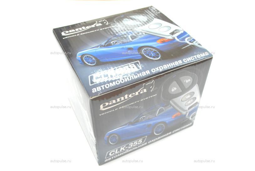 В рамках обновления модельного ряда автосигнализаций Pantera в свет вышла новая модель - CLK-355.
